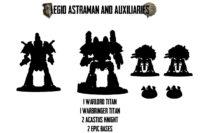 Adeptus Titanicus - Legio Astraman and Auxiliaries